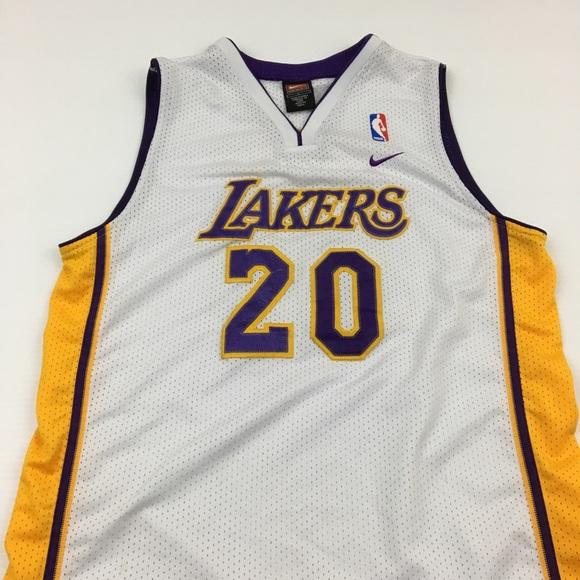 ea9dde71064 Nike Tops | Vintage Gary Payton La Lakers Jersey Size L | Poshmark